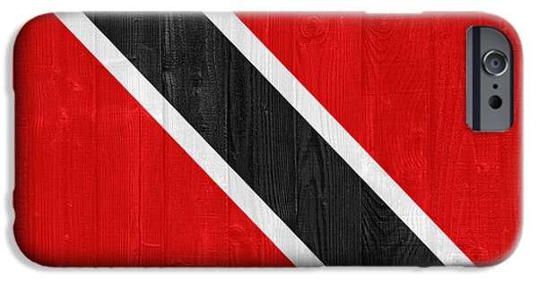 Recently Sold -  - Nation iPhone Cases - Trinidad and Tobago flag iPhone Case by Luis Alvarenga