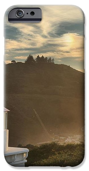 Trinidad Beach Lighthouse iPhone Case by Adam Jewell
