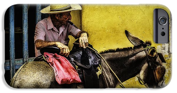 Colonial Man iPhone Cases - Trinidad in Color Part III - DonkeyBoy iPhone Case by Erik Brede