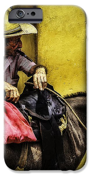 Trinidad in Color Part III - DonkeyBoy iPhone Case by Erik Brede
