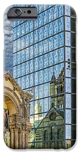 Trinity Church iPhone Case by Maria Coulson