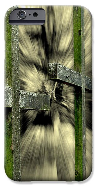 Grave Yard iPhone Cases - Trinity iPhone Case by Colleen Kammerer