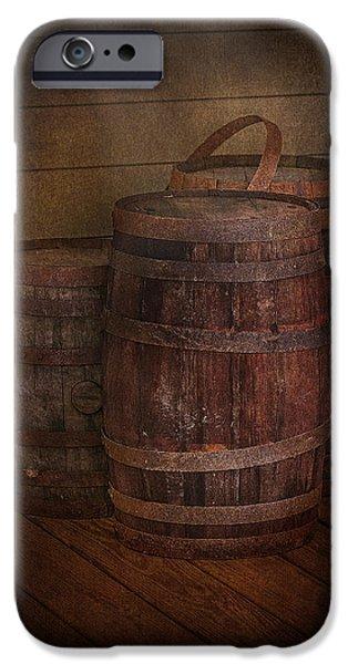 Triple Barrels iPhone Case by Susan Candelario