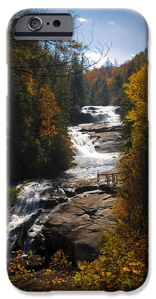 Tripple iPhone Cases - Triple Falls iPhone Case by Penny Lisowski