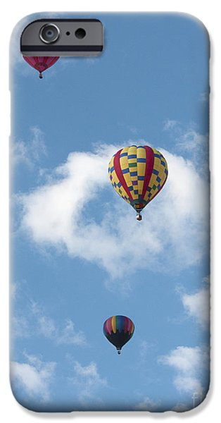 Hot Air Balloon iPhone Cases - Triple iPhone Case by Russell Smith