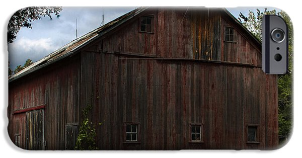 Barnstormer Photographs iPhone Cases - Tripp Barn iPhone Case by Guy Shultz