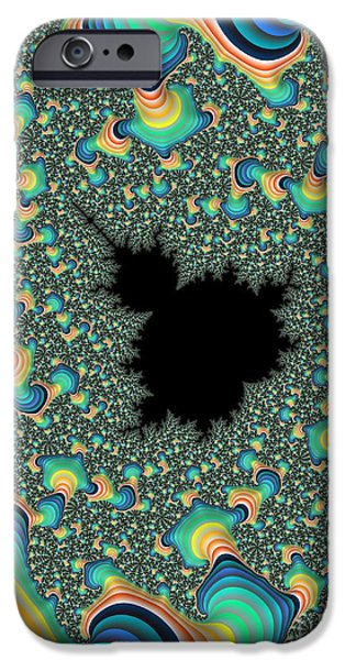 Concept Art iPhone Cases - Trippy  iPhone Case by Heidi Smith