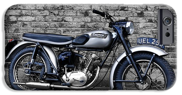 Cubs Photographs iPhone Cases - Triumph Tiger Cub iPhone Case by Mark Rogan
