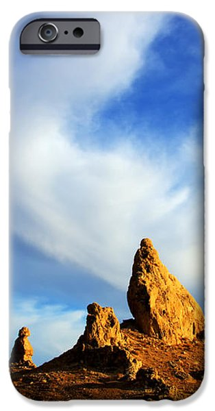 Trona Pinnacles California iPhone Case by Bob Christopher