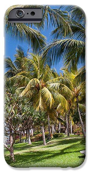 Tropical Beach I. Mauritius iPhone Case by Jenny Rainbow