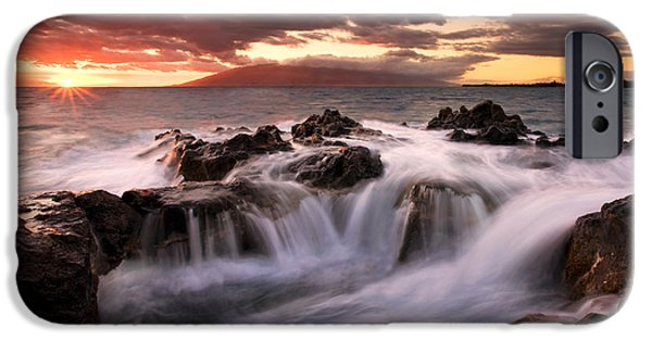 Ocean Sunset iPhone Cases - Tropical Cauldron iPhone Case by Mike  Dawson