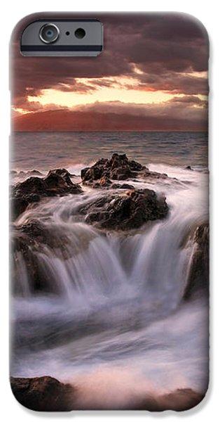 Tropical Cauldron iPhone Case by Mike  Dawson