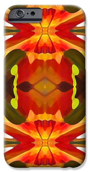 Abstractions iPhone Cases - Tropical Leaf Pattern 17 iPhone Case by Amy Vangsgard