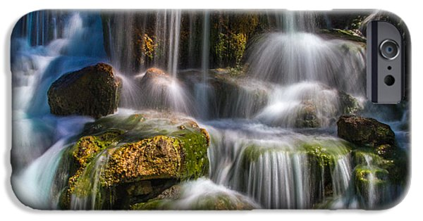 Bill Gallagher iPhone Cases - Tropical Waterfall iPhone Case by Bill Gallagher