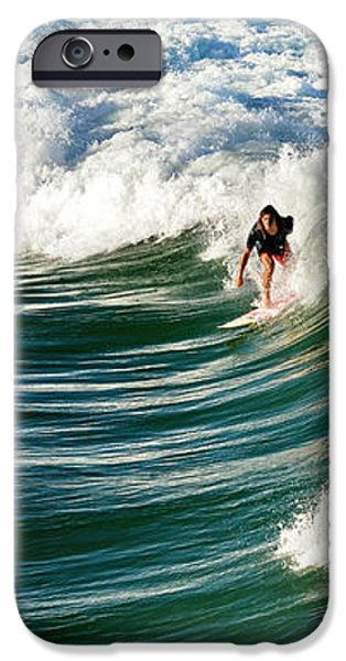 tropical wave iPhone Case by Laura  Fasulo