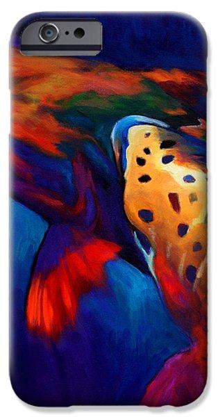 Trout Dreams iPhone Case by Savlen Art