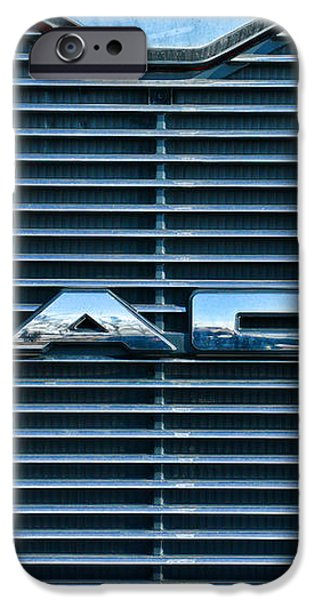 Truck - The MACK Grill iPhone Case by Paul Ward