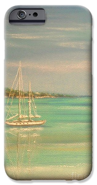 Sailing Pastels iPhone Cases - True Love iPhone Case by The Beach  Dreamer
