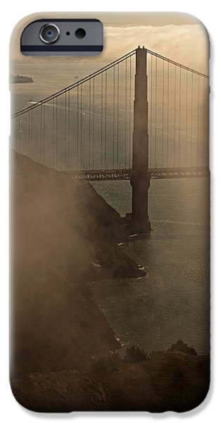 Alcatraz iPhone Cases - Truly Golden iPhone Case by Jean Booth