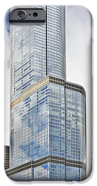 Interior Scene iPhone Cases - Trump Tower Chicago - A surplus of superlatives iPhone Case by Christine Till