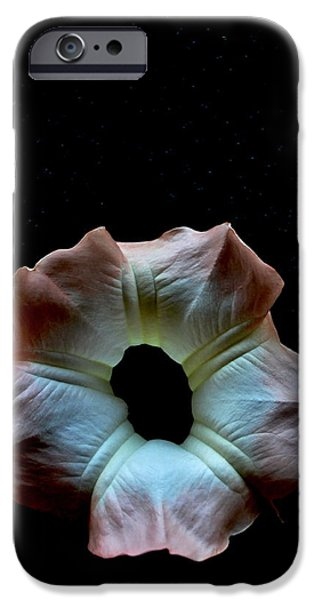Night Angel iPhone Cases - Trumpet In The Stars iPhone Case by Gustave Kurz