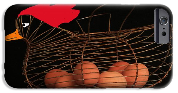 Basket iPhone Cases - Trust God iPhone Case by Joe Jake Pratt