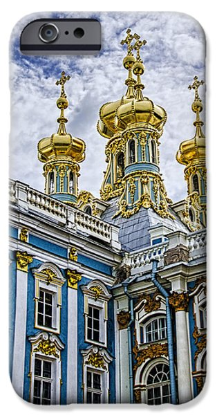 St John The Russian iPhone Cases - Tsarskoye Selo - The Tsars Village iPhone Case by Jon Berghoff