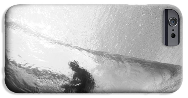 Surrealism Photographs iPhone Cases - Tube Time iPhone Case by Sean Davey
