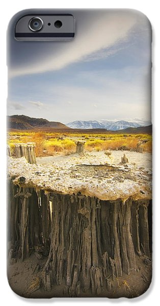 Peter Coskun iPhone Cases - Tufa Time iPhone Case by Peter Coskun