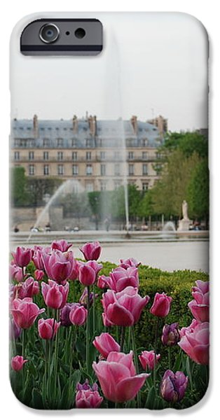 Tuileries Garden in Bloom iPhone Case by Jennifer Lyon