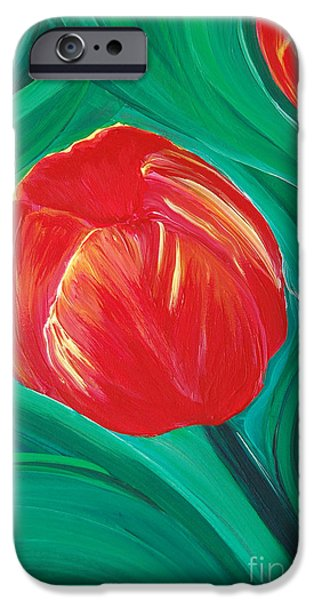 Tulip Diva by jrr iPhone Case by First Star Art