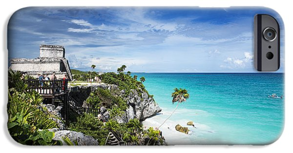 Water Photographs iPhone Cases - Tulum iPhone Case by Yuri Santin
