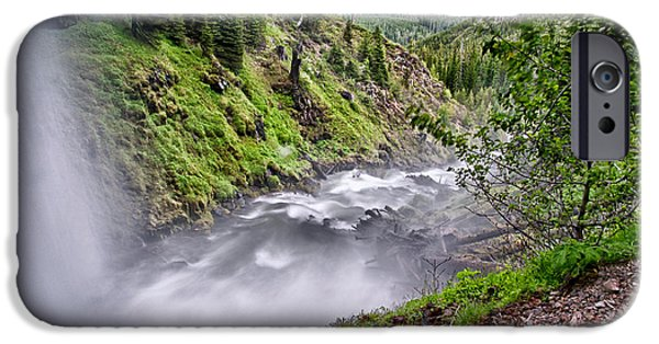 River iPhone Cases - Tumalo Creek iPhone Case by Cat Connor