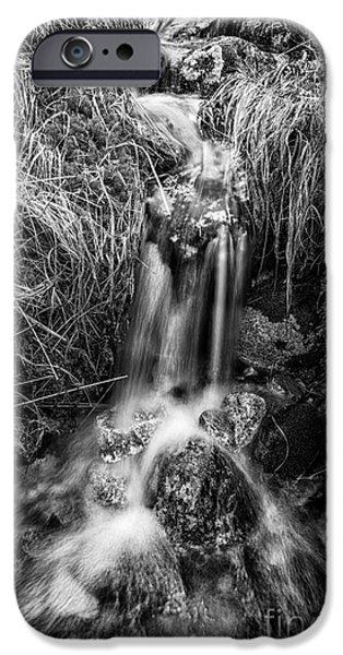 Tumbling water iPhone Case by John Farnan
