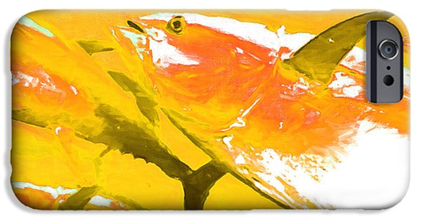Tuna iPhone Cases - Tuna Fish m54 iPhone Case by Wingsdomain Art and Photography