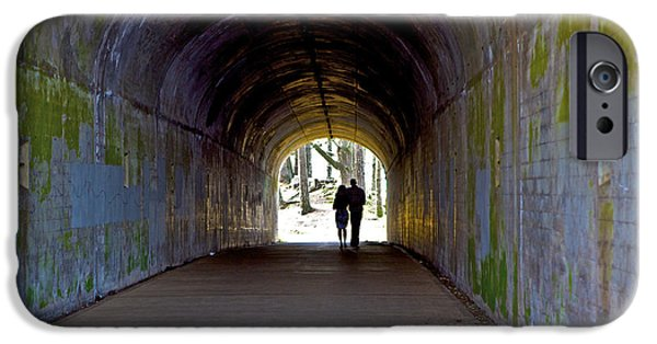 Recently Sold -  - Sausalito iPhone Cases - Tunnel of Love iPhone Case by SC Heffner