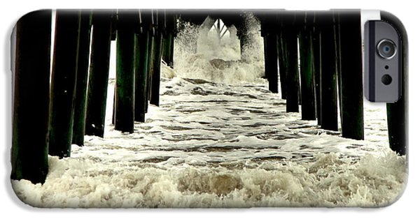 Flooding iPhone Cases - Tunnel Vision iPhone Case by Karen Wiles