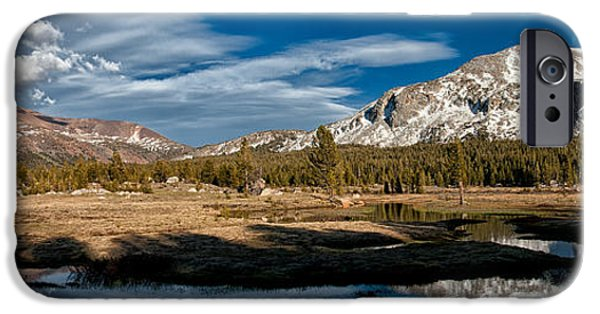 Meadow Photographs iPhone Cases - Tuolumne Meadows iPhone Case by Cat Connor