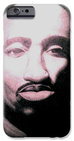 Multimedia Drawings iPhone Cases - Tupac iPhone Case by Victor Carrington