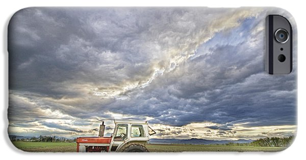 Epic iPhone Cases - Turbo Tractor Country Evening Skies iPhone Case by James BO  Insogna