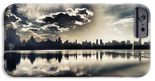 Turbulent Skies iPhone Cases - Turbulent Afternoon iPhone Case by Nishanth Gopinathan