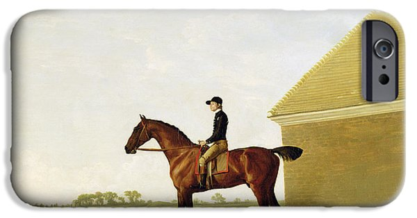 The Horse iPhone Cases - Turf iPhone Case by George Stubbs