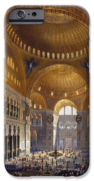 TURKEY: HAGIA SOPIA, 1852 iPhone Case by Granger
