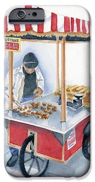 Vendor iPhone Cases - Turkish Fast Food iPhone Case by Marsha Elliott