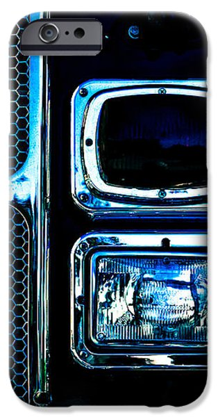 Turn Signal Fire Engine Number Five iPhone Case by Bob Orsillo