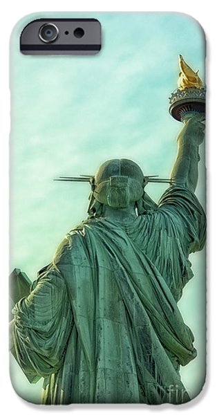 Ignored iPhone Cases - Turn Your Back on Justice iPhone Case by Margie Hurwich