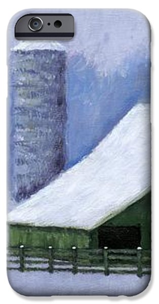 Turner Barn in Brentwood iPhone Case by Janet King
