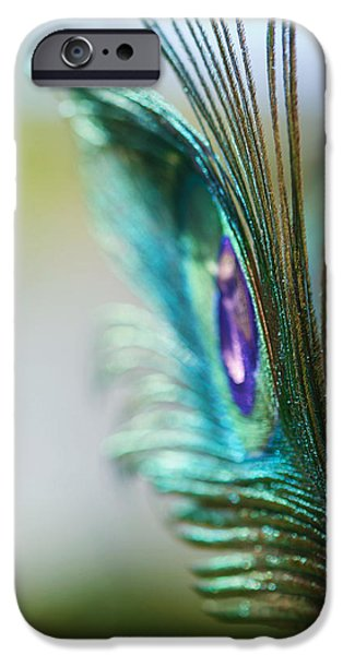 Luminescent iPhone Cases - Turquoise in the Light iPhone Case by Lisa Knechtel