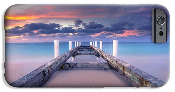 Photography Photographs iPhone Cases - Turquoise Paradise iPhone Case by Marco Crupi