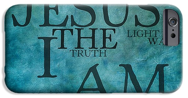 Bridegroom iPhone Cases - Turth Light Way 1 iPhone Case by Angelina Vick